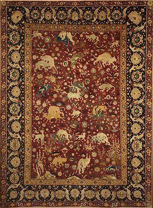 SAFAVID EMPIRE Cultural blending- Chinese artisans brought to Esfahan (the Safavid capital)-