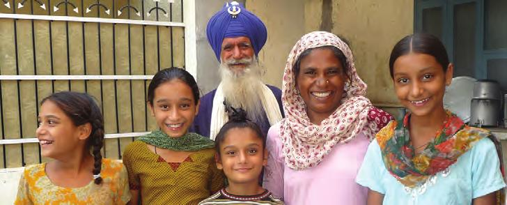 PUNJAB & PUNJABI Although the Sikh religion is not intrinsically tied to a single region or ethnicity, its homeland is the region of Punjab, and a vast majority of Sikhs in the world today are of