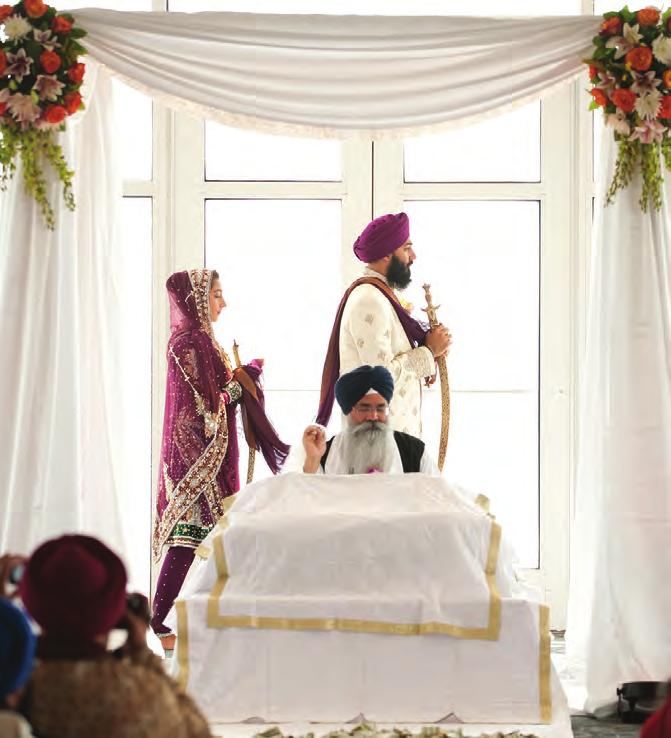 A reading is taken at random from the Guru Granth Sahib, and typically, the first letter of the first word is used for the first letter of the child s name.