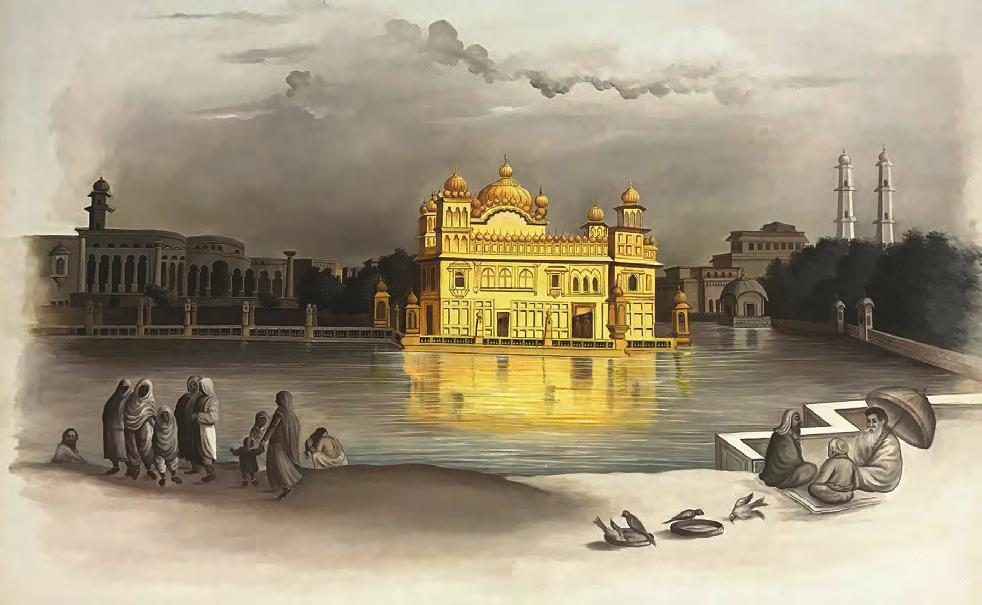 HISTORY About 500 years ago, a boy named Nanak was born in the Punjab region of South Asia.