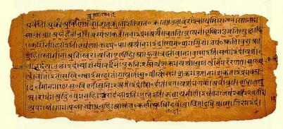 1500-500 BCE Vedas: religious texts; main source of information of the time 1000 BCE: New peoples migrate into India Aryas: lighter skinned, Indo-European language speakers Settled in the North