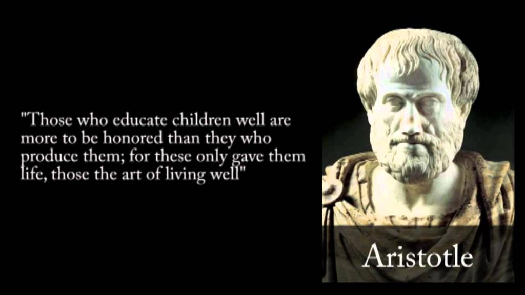 Aristotle Athenian philosopher and teacher who lived from 384-322 BCE Was one of Plato s students at the Academy Created own school called the Lyceum after Plato s death Work to collect and