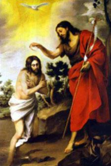 (Luke 2:41-51) Spiritual Fruit: Obedience The First Luminous Mystery THE BAPTISM OF THE LORD After Jesus also had been baptized and was praying,