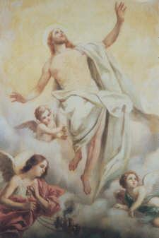 The Second Glorious Mystery THE ASCENSION When he had said this, as they were looking on, he was lifted up, and a cloud took