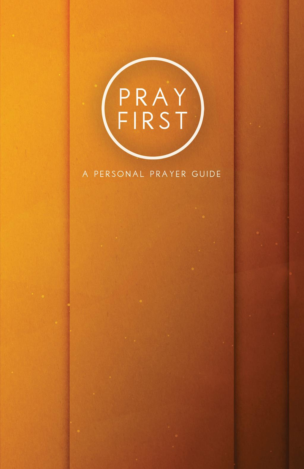 Please enjoy this simple, yet outstanding prayer guide to help you draw closer to God, establish a