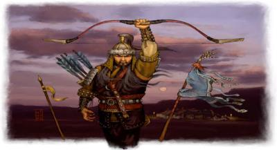 The Mongols 3. The Mongol Empire a. Genghis Khan died in 1227 of illness b. His successors continued to conqueror territory eventually having the largest unified land empire in history c.