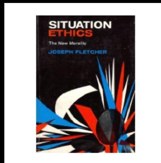 Situation Ethics is relativist in its approach to morality since it is based on the single maxim, agape love.