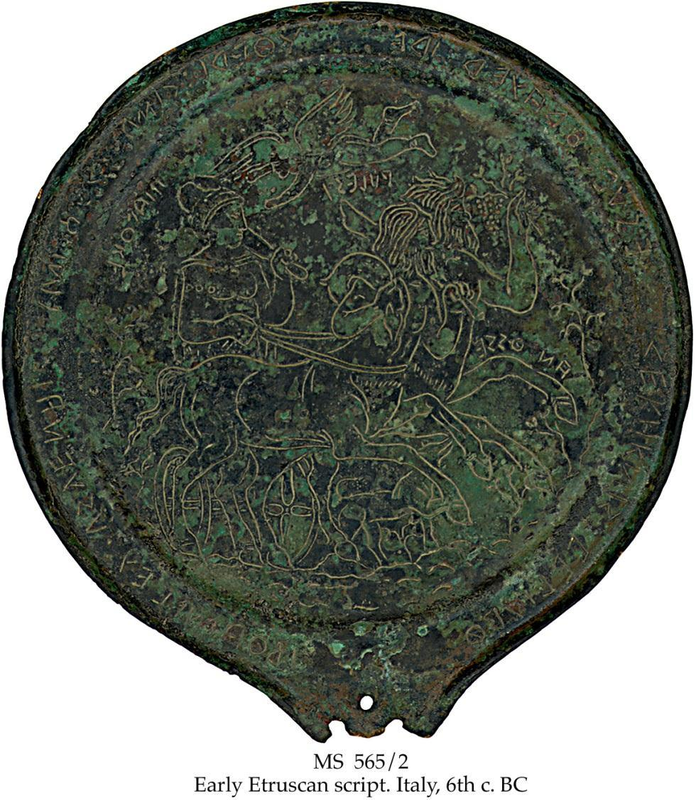 We have many directions to which the tale on the Divine Mirror points. And we have only discussed some of them! What master storytellers the Etruscans were, to have put all this into one mirror!