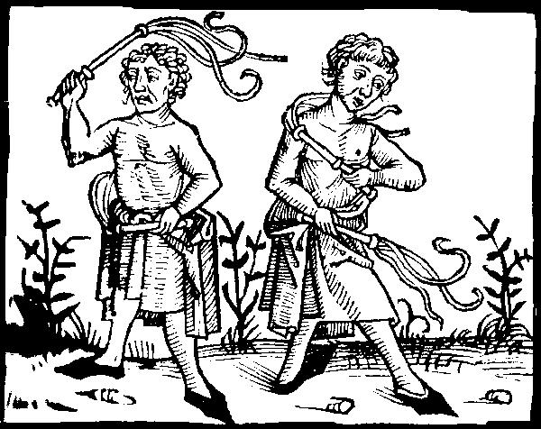 Flagellants - Believed the Plague was sent by the devil 1.