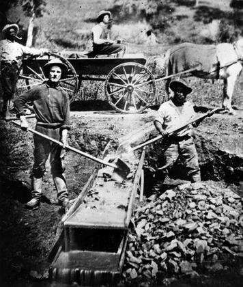 Who Were the Forty- Niners? In 1848, a carpenter named James Marshall was building a sawmill on the American River in northern California and found gold.
