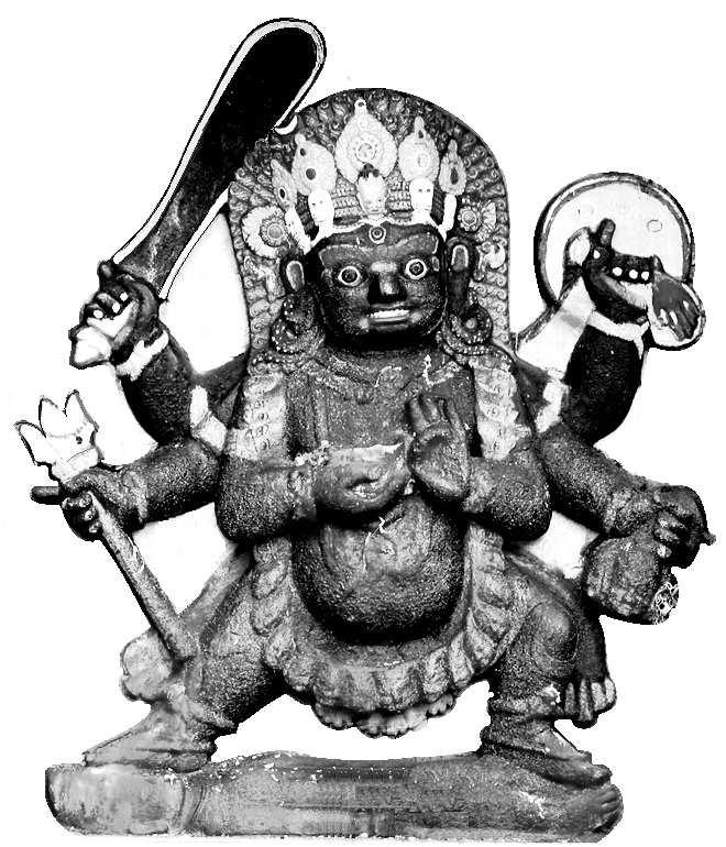 Shrī Bhairava - Kathmandu Shri Bhairava In Nepal we have a very huge, big Bhairava-nāth th* statue which is really a Swayambhu and people are more left-sided, so they are afraid of Bhairava-nāth th.