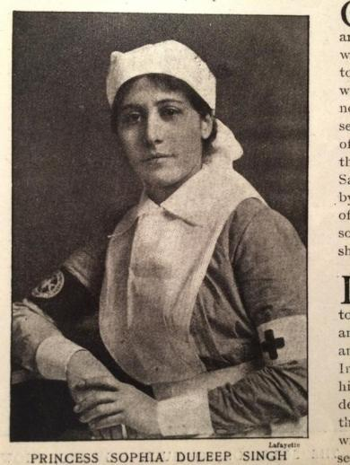 They eventually succeeded and Sophia went on to serve as a nurse in Brighton.