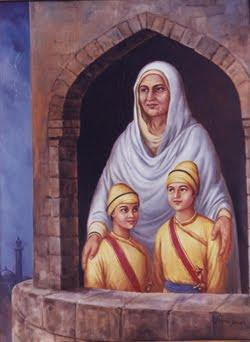 Mata Gujri Ji ਮ ਤ ਗ ਜਰ ਜ 1624-1705 Mata Gujri Ji was an illuminating force behind her husband Guru Tegh Bahadur Ji and her