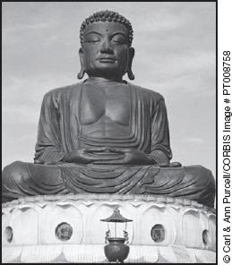 40 This statue represents the founder of A Buddhism B Shintoism C Confucianism D