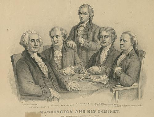 "Many people didn't like Jackson ignoring official procedures, and called it the ""Kitchen Cabinet"" or ""Lower Cabinet""."