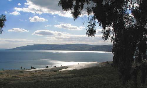 Sea of Galilee from