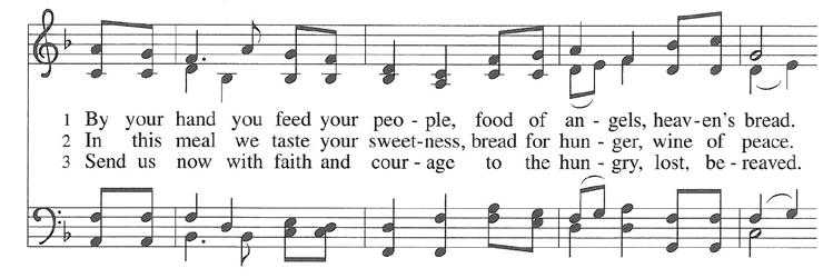 Bread of Life from Heaven Hymnal #474 By Your Hand You