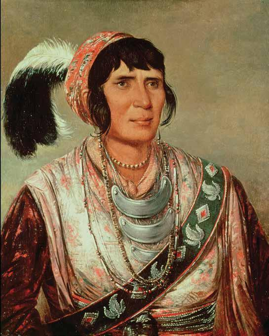 CHAPTER 6: Land, Land, and More Land In 1836, Osceola, an influential leader in the Seminole tribe, led the resistance against