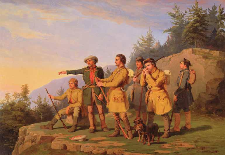 CHAPTER 1: Daniel Boone In 1769, after years of searching, Daniel Boone and his companions came upon the Cumberland Gap, which led through the Appalachian Mountains.