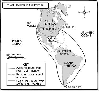 3. California Becomes a State (1850) **Because gold is discovered, California becomes a state prior to most western states.