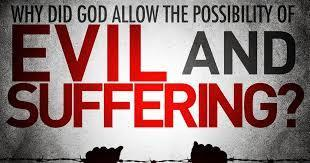 Task 3 God does not inflict suffering on human beings directly. Suffering is allowed by God as a test of courage and faith. God gave humans free will.