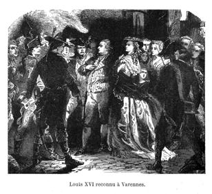 1791: June 20-21: The Night of Varennes : Royal family tries to