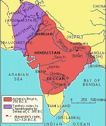 Rig-Veda Mahabharata Ramayana Upanishads The Epics or Vedas Bhagavad Gita (part of the Mahabharata) The Mauryan Dynasty End of Vedic period around 500 BCE Rise of regional states, eventually one