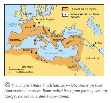 The Roman Empire at its Height The Roman Empire became huge It covered most of Europe, North