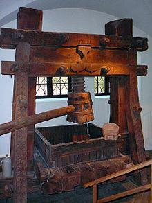 Gutenberg s first printed book was the bible.