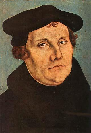 Martin Luther began to criticize the Roman Catholic Church for holding too much money and power in Europe, and for selling