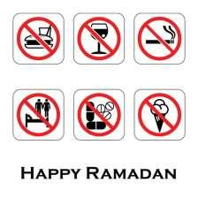During this month, Muslims will refrain from all food, drink,