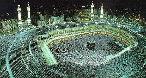 5 th Pillar: The Hajj (Pilgrimage to Mecca) Muslims are required to travel to