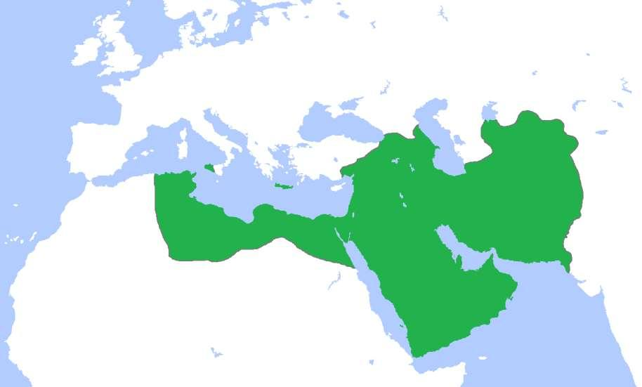 Extent of Islam under the Abbasid Caliphate