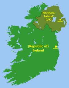 The Creation Northern Ireland Six counties in Northern Ireland,