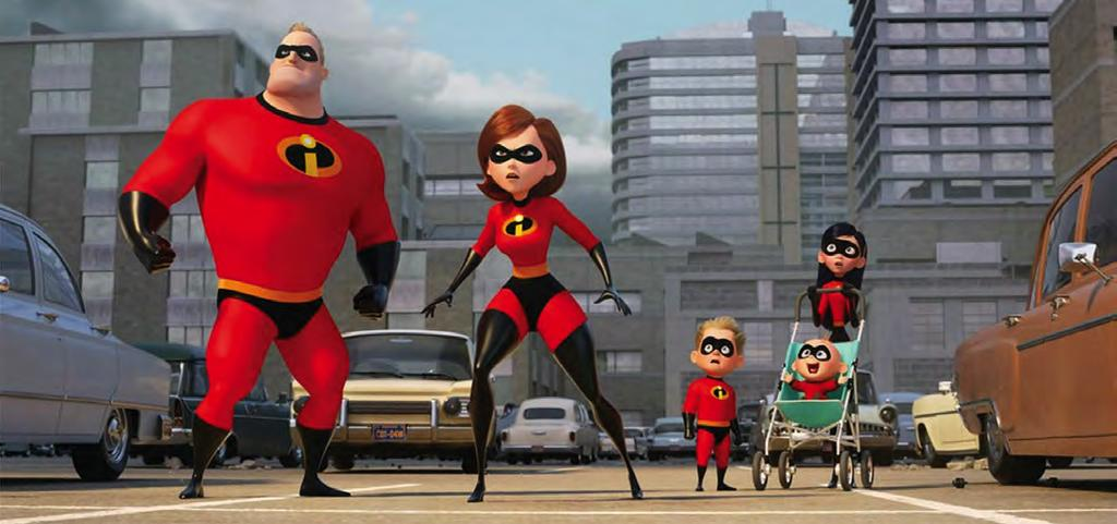 THURSDAY June 21, 2018 FLICK PICKS A7 Incredibles 2 holds the same magic as the original movie Brad Bird s Incredibles 2 opened in theaters last Friday after a