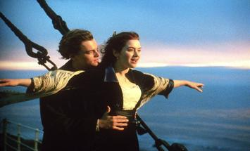 Warning: Overrated James Cameron's Titanic Georgina von Marburg It seems only appropriate that we kick off this new segment of Sextant Film Reviews with one of the most overrated films of all time.