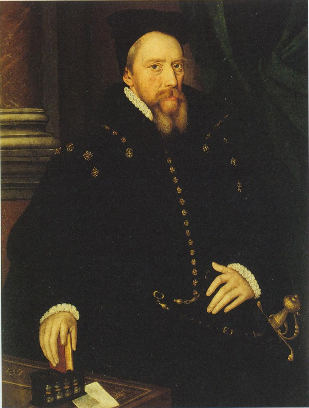 ii Image 1: Attr. Hans Eworth, William Cecil, Lord Burghley, c.