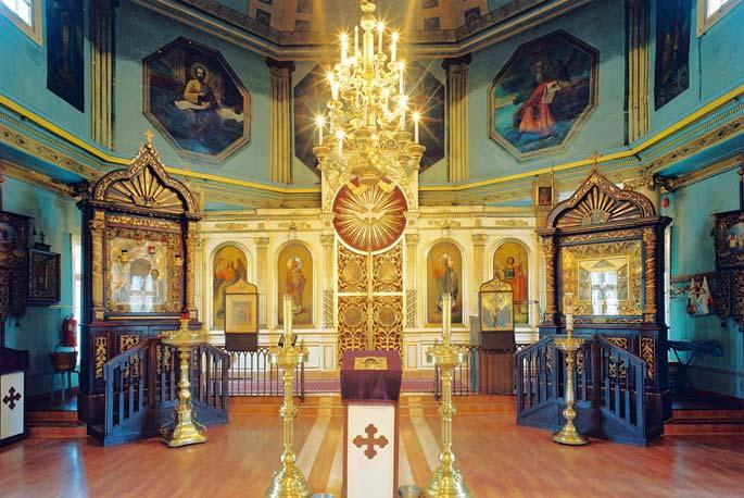 Orthodoxy and Orthodox Sacral Buildings in Estonia from the 11th to the 19th Centuries Photo 5. The Church of the Nativity of the Mother of God (Kazan Icon) in Tallinn (consecrated in 1721).