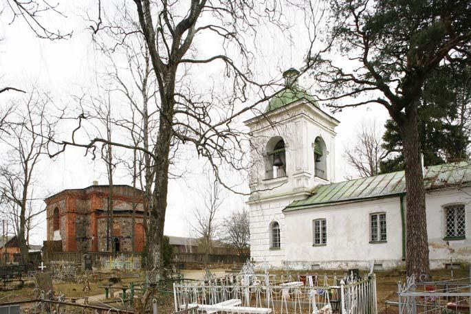 The Church of the Holy Great Martyr Varvara (Barbara) in Petseri/Pechory (completed in