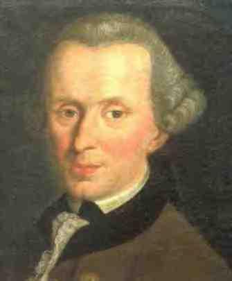 Immanuel Kant (1724-1804): Argues in favor of a