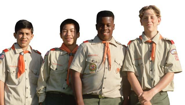 men and also to our country as a whole. Four Presidents - Kennedy, Ford, Clinton, and George W. Bush have participated in Scouting.