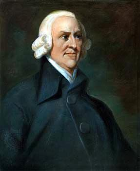 Adam Smith & Economics If individuals are free to pursue their own economic self-interest, society benefits Government should allow the free play of natural economic