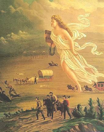 Section 2 Manifest Destiny Americans move west, energized by their belief in