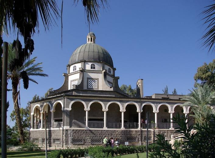 Capernaum: The town is cited in the Gospel of Luke and the Gospel of John where it was reported to have been near the hometown of the apostles Simon Peter, Andrew, James and John,