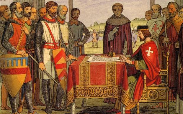 Magna Carta In an effort to raise money for war against France, King John levied excessive taxes, thereby weakening his support throughout the country.