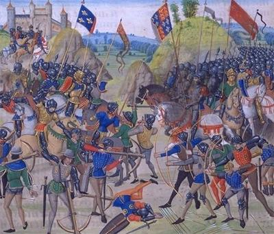 Hundred Years War The Hundred Years War was a consequence of the growth of medieval France and England.
