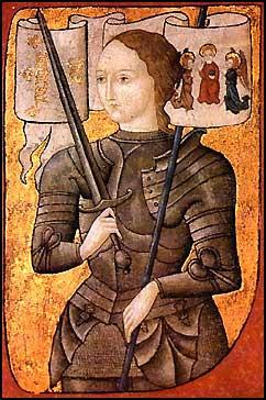 Joan of Arc One of the French heroines of the Hundred Years War was Joan of Arc (Jeanne d Arc).