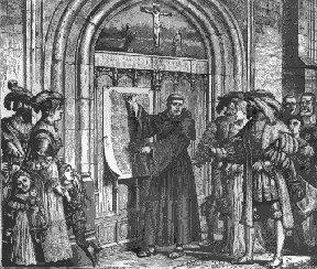 The 95 Theses Indulgences, which were certificates believed to reduce the punishment for sins committed by the purchasers or their loved ones in