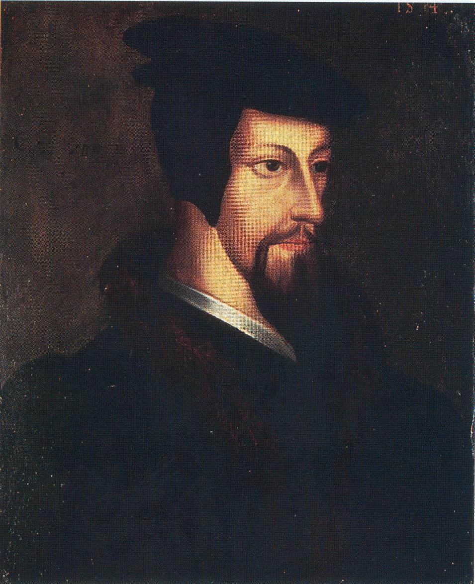 John Calvin (Switzerland) Wrote that men and women are sinful by nature.