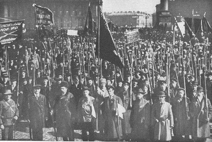 1917! In November of 1917, Lenin starts the Bolshevik Revolution.